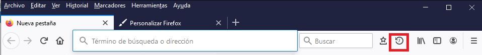 Función Olvidar de Firefox