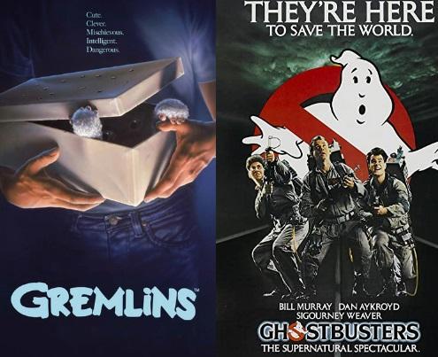 Gremlins y Cazafantasmas