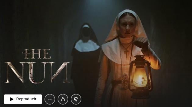 La Monja en Netflix
