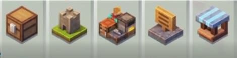 Menú de Minecraft Earth