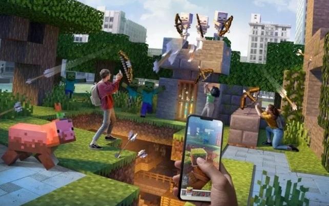Aventuras Minecraft Earth
