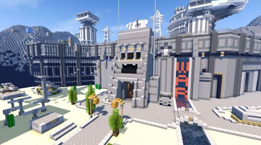 Servidor Brawl en Minecraft