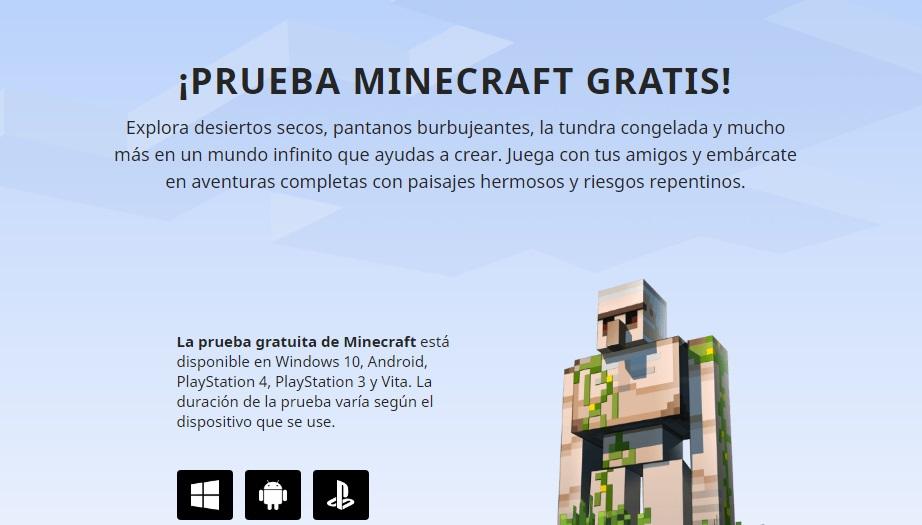 Demo de Minecraft