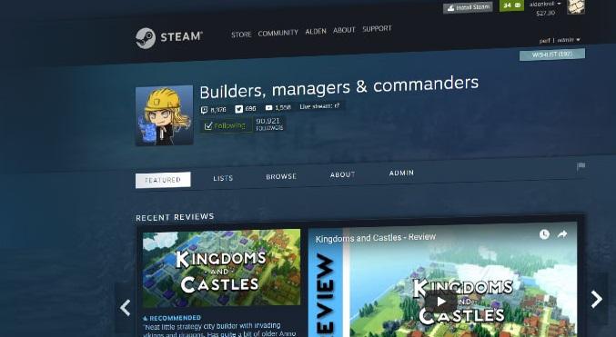 Mentor de Steam