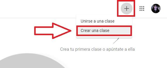 Cómo crear una clase en Google Classroom