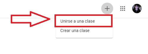 Cómo unirte a una clase en Google Classroom