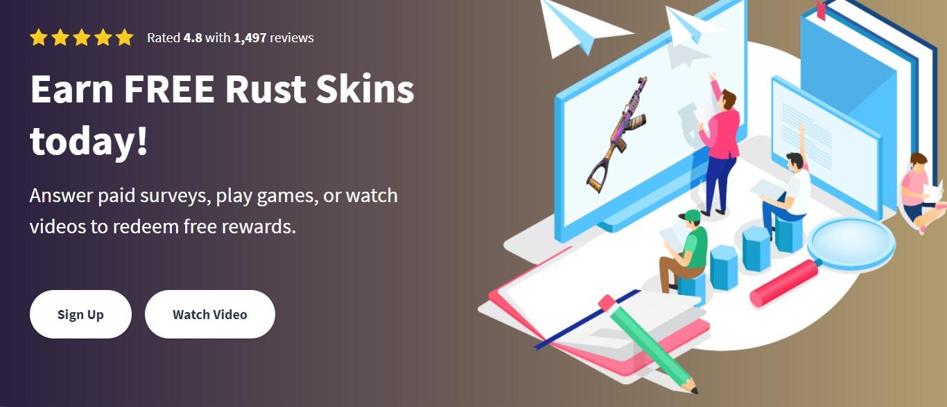 Apply Rust Skins