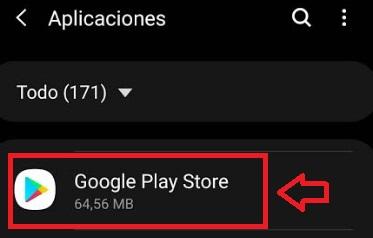 Google Play en Aplicaciones