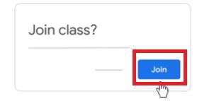 Cómo unirte a una clase de Google Classroom