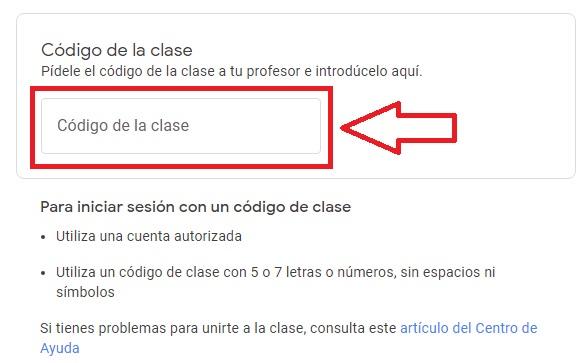 Cómo unirse a Google Classroom