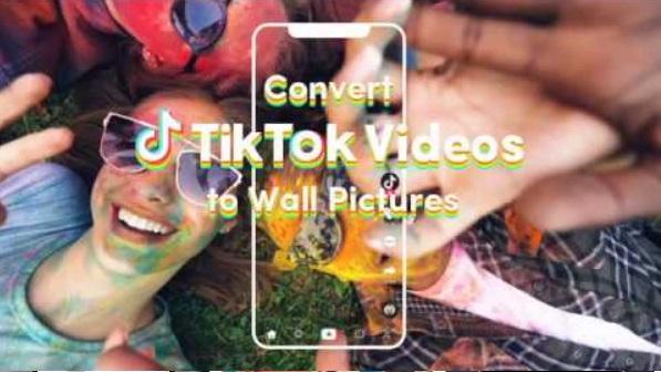 Tik Tok Wall Picture