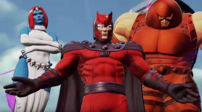 Marvel Ultimate Alliance 3 Dark Brotherhood Magneto Mystique Juggernaut