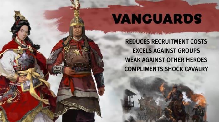 Total War: Three Kingdoms vanguard