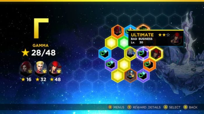 Marvel Ultimate Alliance 3 Gamma Rift Elektra challenge
