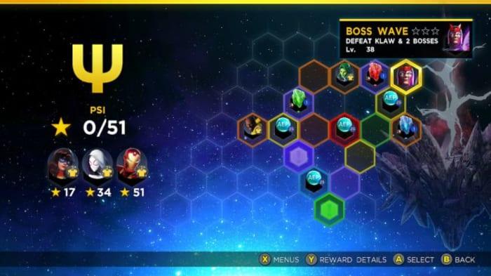 Marvel Ultimate Alliance 3 Psi Rift Magneto challenge