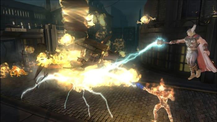Marvel Ultimate Alliance 2 fire tornado fusion