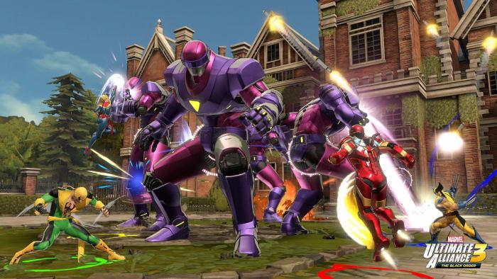 Marvel Ultimate Alliance 3 X-Mansion Sentinels