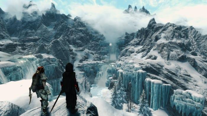 Skyrim Forgotten Vale Dawnguard DLC