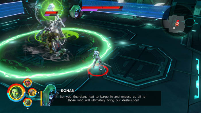 Marvel Ultimate Alliance 3 Ronan boss fight