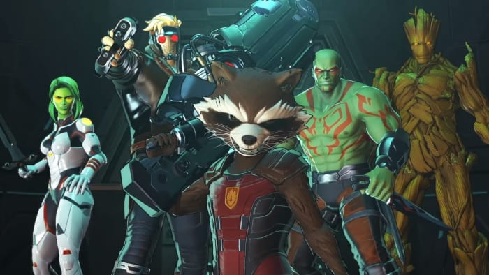 Marvel Ultimate Alliance 3 Guardians of the Galaxy