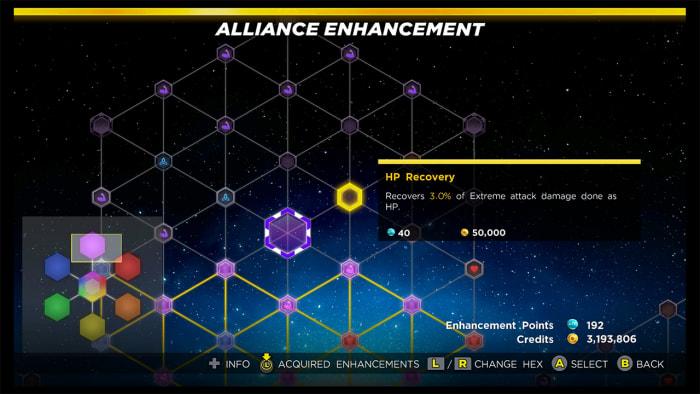 Marvel Ultimate Alliance 3 Alliance Enhancement
