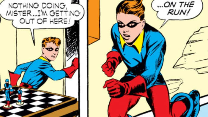Bucky comics Captain America