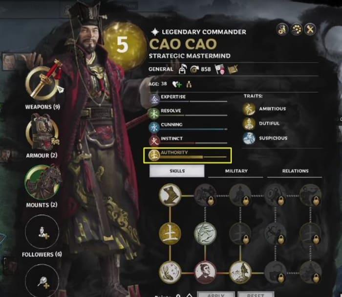 Total War: Three Kingdoms Cao Cao