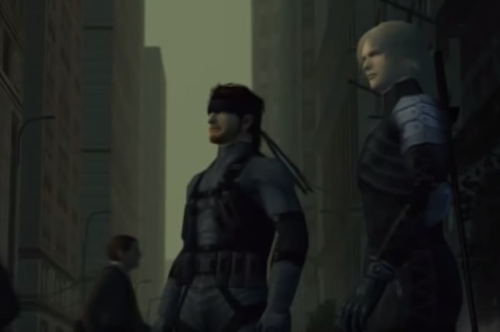 Solid Snake Raiden Metal Gear Solid 2