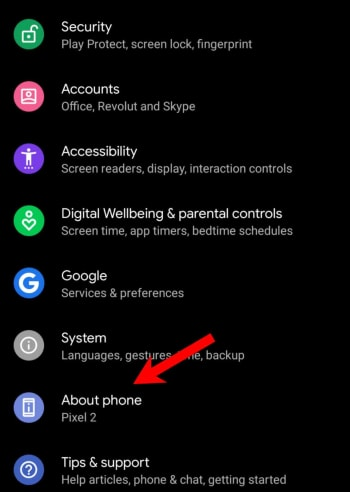 Android easter eggs tips