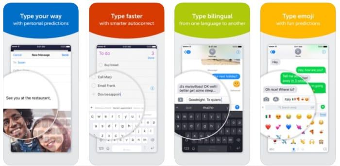 SwiftKey for iPhone