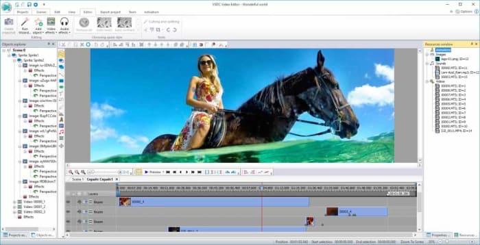 VSDC free editor