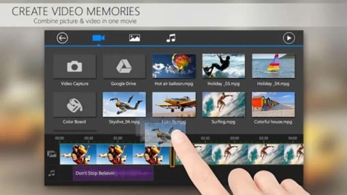PowerDirector free video editing app