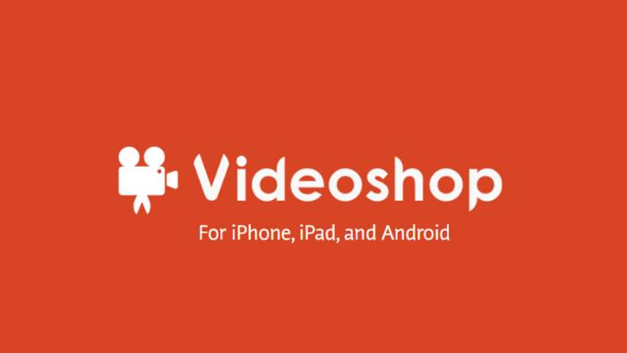Video shop free video editor