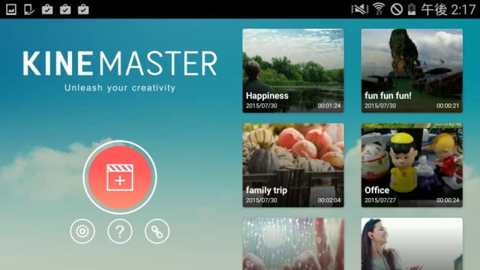 KineMaster mobile video editor