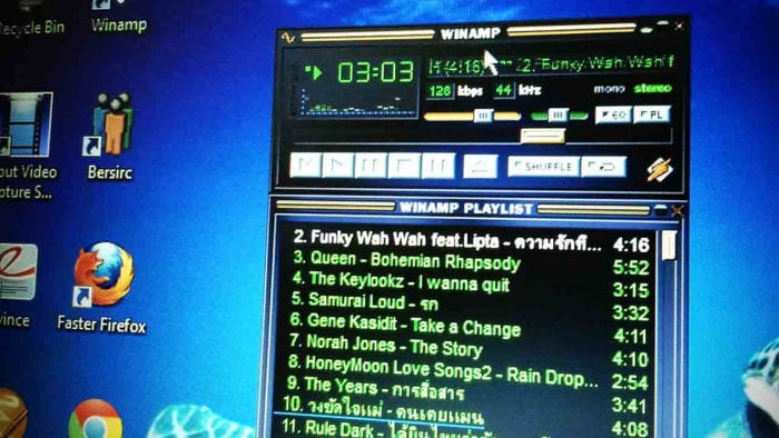 All the best Winamp skins