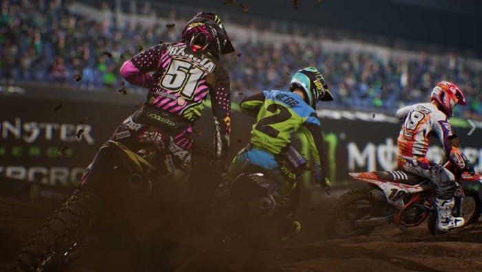 Moto Cross game