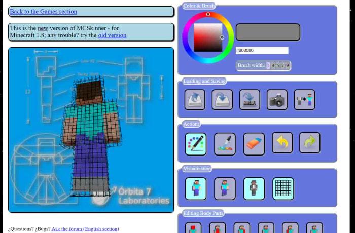 MC Skinner for Minecraft