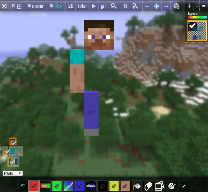 NovaSKin Minecraft skin editor