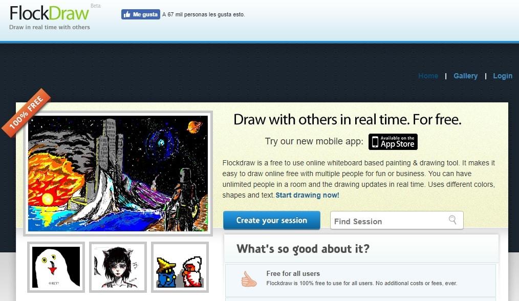 Las mejores páginas gratis para dibujar online