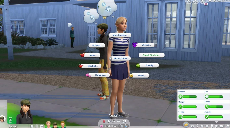 Mod More CAS Traits for Sims para Los Sims 4