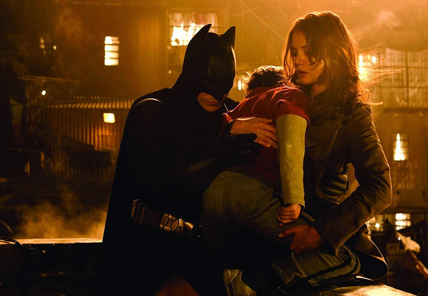 batman begins rachel dawes katie holmes