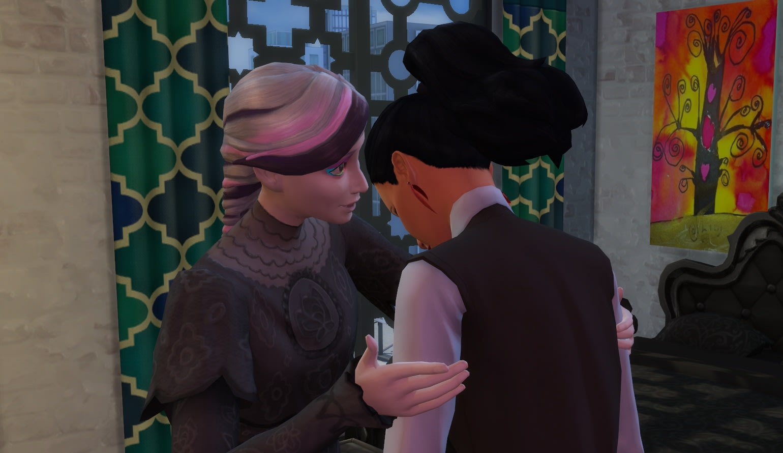 Mod Emotional Inertia para Los Sims 4