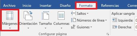 Cómo crear márgenes para un documento en Word