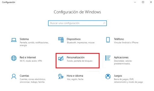 Cómo activar el salvapantallas: Windows 10