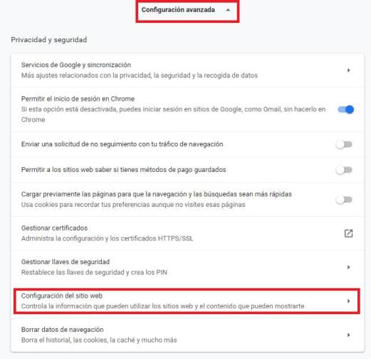 Cómo bloquear una página en Google Chrome