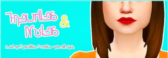 Los Sims 4 Freckles and Moles mod