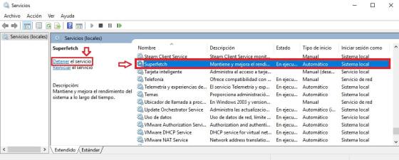 Qué es y cómo desactivar SuperFetch para Windows 10