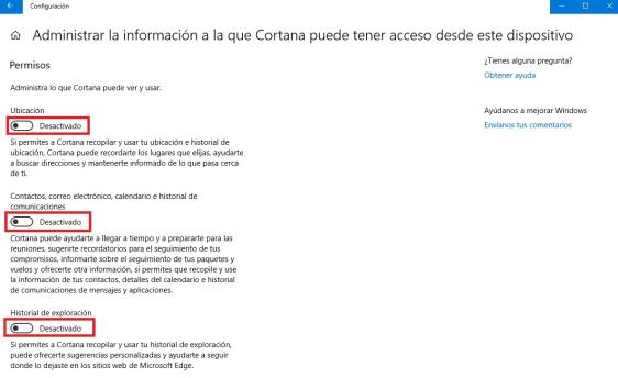 Windows 10: Cómo desactivar a Cortana