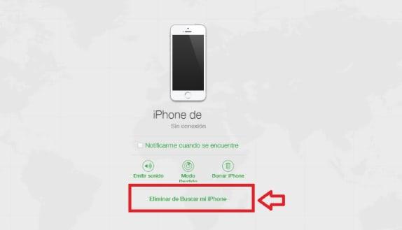 Cómo desactivar Buscar mi iPhone