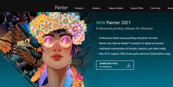 Página de Corel Painter